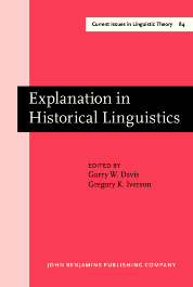 image of Explanation in Historical Linguistics