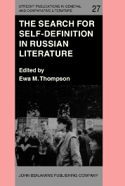 image of The Search for Self-Definition in Russian Literature