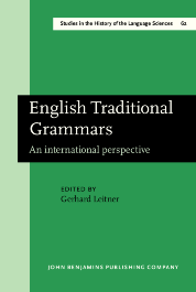 image of English Traditional Grammars