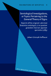 image of Semiological Investigations, or Topics Pertaining to the General Theory of Signs