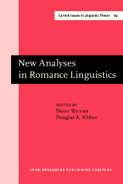 image of New Analyses in Romance Linguistics