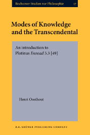 image of Modes of Knowledge and the Transcendental
