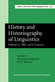 image of History and Historiography of Linguistics