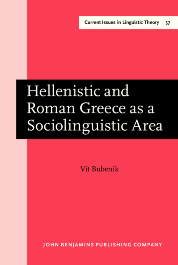 image of Hellenistic and Roman Greece as a Sociolinguistic Area
