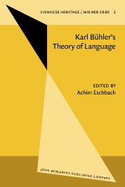 image of Karl Bühler's Theory of Language/Karl Bühlers Sprachtheorie