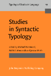 image of Studies in Syntactic Typology