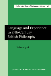 image of Language and Experience in 17th-Century British Philosophy