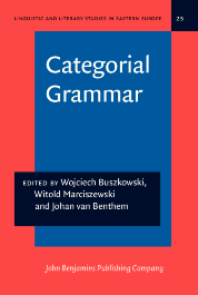 image of Categorial Grammar