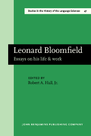 image of Leonard Bloomfield