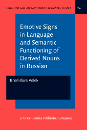 image of Emotive Signs in Language and Semantic Functioning of Derived Nouns in Russian