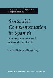 image of Sentential Complementation in Spanish