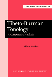 image of Tibeto-Burman Tonology