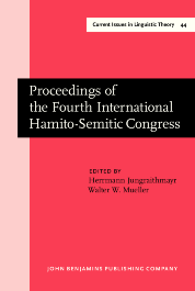 image of Proceedings of the Fourth International Hamito-Semitic Congress