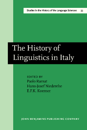 image of The History of Linguistics in Italy
