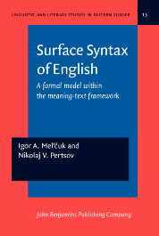 image of Surface Syntax of English
