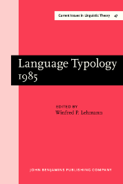 image of Language Typology 1985