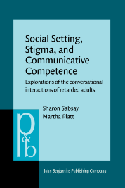 image of Social Setting, Stigma, and Communicative Competence
