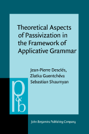 image of Theoretical Aspects of Passivization in the Framework of Applicative Grammar
