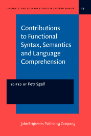 image of Contributions to Functional Syntax, Semantics and Language Comprehension