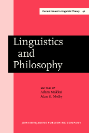 image of Linguistics and Philosophy