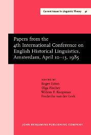 image of Papers from the 4th International Conference on English Historical Linguistics, Amsterdam, April 10–13, 1985