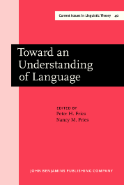 image of Toward an Understanding of Language