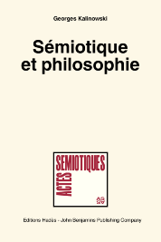 image of Sémiotique et philosophie. (Semiotics and Philosophy)
