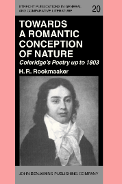 image of Towards a Romantic Conception of Nature: Coleridge's Poetry up to 1803