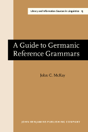image of A Guide to Germanic Reference Grammars
