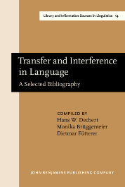 image of Transfer and Interference in Language