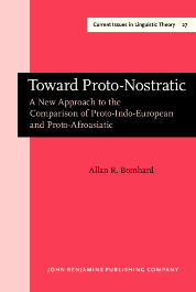 image of Toward Proto-Nostratic