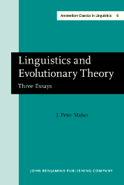image of Linguistics and Evolutionary Theory