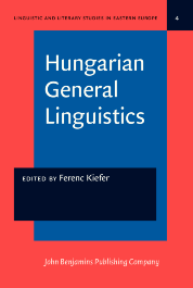 image of Hungarian General Linguistics