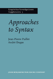 image of Approaches to Syntax