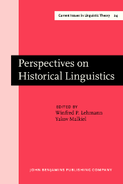 image of Perspectives on Historical Linguistics