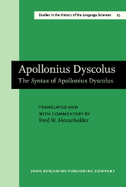 image of Apollonius Dyscolus
