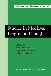 image of Studies in Medieval Linguistic Thought