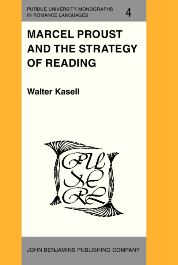 image of Marcel Proust and the Strategy of Reading