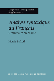 image of Analyse syntaxique du Français