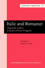 image of Italic and Romance