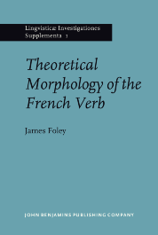 image of Theoretical Morphology of the French Verb