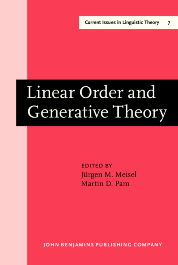 image of Linear Order and Generative Theory