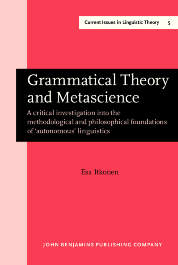 image of Grammatical Theory and Metascience