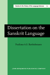 image of Dissertation on the Sanskrit Language