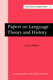 image of Papers on Language Theory and History