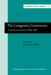 image of The Lautgesetz-Controversy