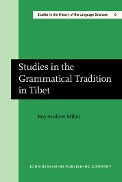 image of Studies in the Grammatical Tradition in Tibet
