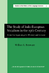 image of The Study of Indo-European Vocalism in the 19th century