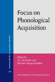 image of Focus on Phonological Acquisition