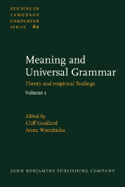 image of Meaning and Universal Grammar